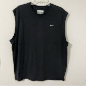 Nike Sleeveless Nike Dry Fit Sports Top Black XXL